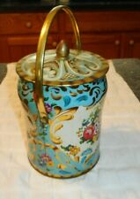 Vintage Murray Allen Regal Crown Handled Tin