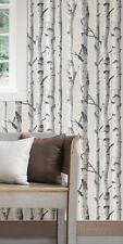Birch Tree Peel & Stick Wallpaper Wall Decal Sticker - 20.5x216
