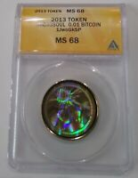 2013 Microsoul, loaded/funded-0.01 BTC, ANACS MS 68, error, One of a kind!!!