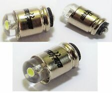10 weiße LED Steckbirnen Märklin 60000 MS4 18V 24V Glühlampen Lampen Birnen