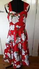 TS Stunning Rosie Posie dress red/white  size 18 Brand new with tags  RRP$249.95