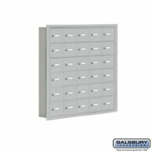 Cell Phone Storage Locker - 6 Door High Unit (5 inch Deep Compartments) - 30 A D