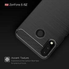 Shockproof Carbon Fiber Case Cover For Asus Zenfone 5 ZE620KL 5Z ZS620KL 6.2""