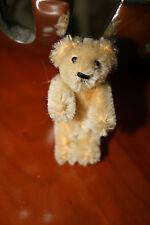 Schuco Talisman Teddy * Nounours 7 cm * blonde * 1950er Ans