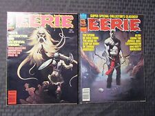 1980 EERIE Warren Horror Magazine LOT of 2 #111 VF 112 VF-