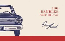1964 AMC American Owners Manual User Guide Reference Operator Book ...