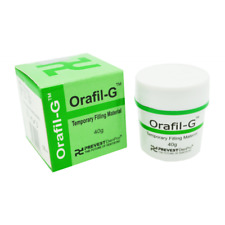 Dental Temporary Tooth White Filling Cement Mega Kit Self Cure - Orafil G