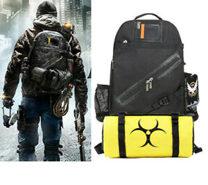 Game Tom Clancy's The Division Tactical Backpack Agent Go Rucksack Dark Zone Bag