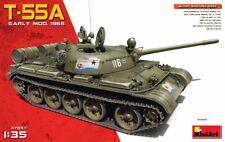 PLASTIC MODEL KIT SOVIET MEDIUM TANK T-55A EARLY Mod. 1965 1/35 MINIART 37057
