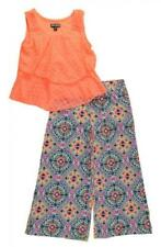 Tenues et ensembles multicolore en polyester pour fille de 2 à 16 ans
