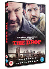 THE DROP TOM HARDY JAMES GANDOLFINI NOOMI RAPACE FOX UK 2015 REGION 2 DVD NEW