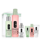 $125 Clinique 7 Pcs Great Skin Anywhere Gift Set Dramatically Different Jelly