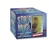 Mens Female Strip Mug Adult Office Novelties Funny Gifts Rude Humor Gift Jokes
