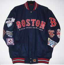 SIZE XXL MLB BOSTON RED SOX Commemorative Wool Reversible Jacket  JH DESIGN XXL