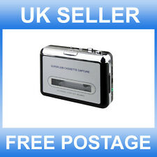 PORTABLE TAPE TO DIGITAL  PC USB AUDIO PLAYER CONVERTER CASETTE TO MP3 CAPTURE