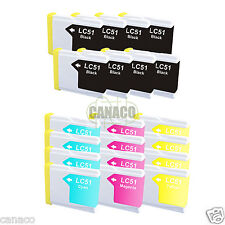 20+ Pack LC51 NON-OEM Ink Cartridge Brother Printer MFC-685CW MFC-440CN LC51