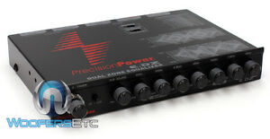 PPI E.DZ EQUALIZER PRECISION POWER EQ for SUBS SPEAKERS COMPONENTS AMPLIFIER NEW