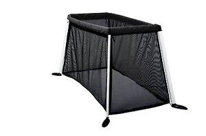 Phil&Teds Version 3 Traveller Crib - Black - New! Free Slim Shady Sun Cover!!