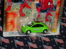 JOHNNY LIGHTNING MARVEL SPIDERMAN VW NEW BEETLE #1/12 FREE USA SHIPPING