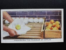 No.49 PRESERVING THE FLAVOUR OF APPLES Garden Hints - Wills 1938