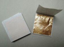500 feuilles d'or 24 carats 4,5 x 4,5 cm