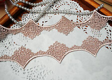 Beautiful Beige Venise Lace Trim 36 mm Wide By The Metre