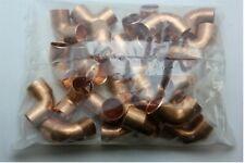 """Mueller 3/4"""" x 3/4"""" Copper 90° Ells - WB01634 - Bag of 25"""