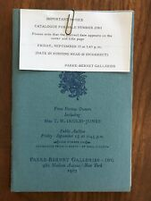 French & Other Furniture Parke Bernet Auction Catalog Sept 15, 1967