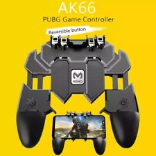 Mobile PUBG Controller Turnover Button 6 Finger Gamepad Pubg Trigger IOS Android