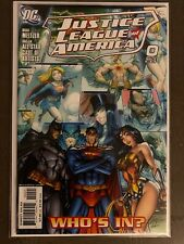 Justice League of America #0 J Scott Campbell 1:10 Variant Cover Nm Dc Comics