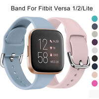 Sport Weich Ersatzriemen Armband Silikon Watch Band For Fitbit Versa 2 1 Lite