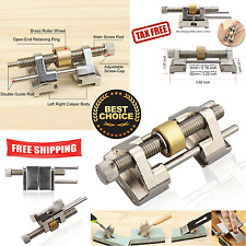 Honing Guide Brass Roller for Wood Chisel,Plane,Blade,Graver,Edge Sharpening New