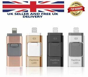 USB Storage Memory Stick i-Flash Drive 32 64 128 GB OTG Disk for iPhone X8 7 6 5