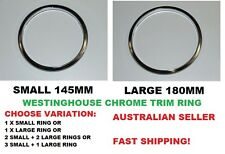 Westinghouse 145mm 180mm Small Large Chrome element Trim Ring 545-1-908 545-1-90