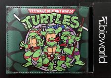 Ninja Turtles Wallet Purse Mens Kids TMNT Movie Bioworld Arcade Xbox PS4 Wii OZ!