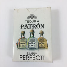 Patron Tequila Simply Perfect! Standard Poker Playing Cards Deck - Opened Box