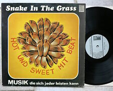 SNAKE IN THE GRASS - Hot und Sweet mit Beat LP OPP World Wide 5-5