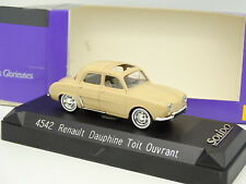 Solido 1/43 - Renault Dauphine Toit Ouvrant Beige