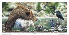Small Talk by Tyler Saunders Bear Print 27x14