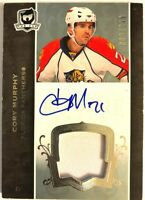 2007-08 Upper Deck The Cup Autograph Patch Rookie Card Cory Murphy RC /249 #168