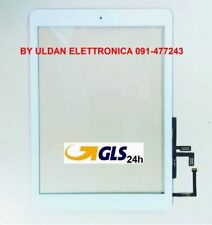 TOUCH SCREEN Per Apple iPad 5 Air A1474 A1475 A1476 WiFi 3G VETRO Tablet Bianco