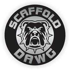 Scaffold Dawg Hard Hat Sticker   Helmet Decal   Label Scaffolding Builder Dog