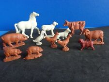 GROUP OF VINTAGE TOY FARM ANIMALS