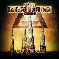 INTENT:OUTTAKE - Days of Doom (2nd Version) CD Neu