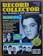 Record Collector August 1999 No.240 Elvis, Ozzy, Beautiful South