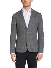 Hugo Boss Men's 'T-Mourize' Slim Fit Wool Blend Grey Sport Coat Blazer, Size 46R