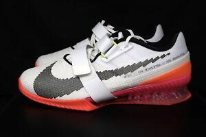 Nike Romaleos 4 SE, Men's 9 Rawdacious  DJ4487-121 White Crimson pink / sz 12