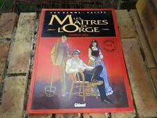 LES MAITRES DE L'ORGE TOME 1 EDITION SPECIALE GLENAT 2001 avec préface inédite