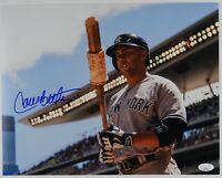 Carlos Beltran JSA Autograph Signed 11 x 14 photo New York Yankees Baseball