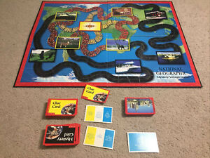 National Geographic Mystery Voyage Board Game Spare Replacement Parts
